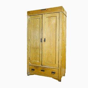 Art Deco Wooden 2-Door Cabinet