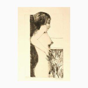 Carlo Marcantonio - Nude - Original Etching - 1970s