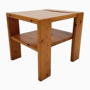 Mid-Century Pine Side Table, 1960s