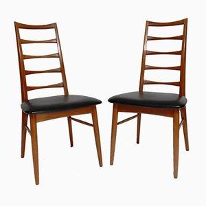 Lis Stühle von Niels Koefoed für Niels Koefoed Mobelfabrik, 1960er, 6er Set