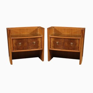 Italian Nightstands, 1960s, Set of 2