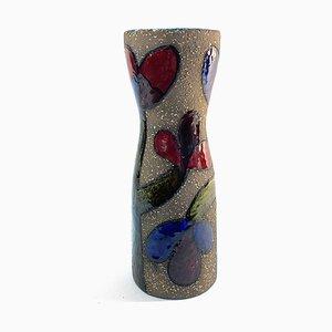 Swedish Clay Vase by Mari Simmulson for Uppsala Ekeby, 1960s