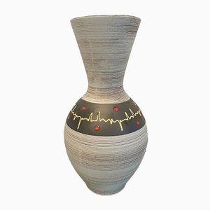 Vase de Cartens Scheurich, Allemagne de l'Ouest
