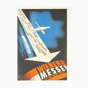 Poster Wiener Messe, anni '50