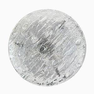 Plafoniere Eisglas Deckenlampe von Kaiser Leuchten, 1960er