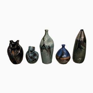 Vasen von Thomas Buxo, 1960er, 5er Set