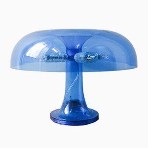 Blaue Nessino Tischlampe von Giancarlo Mattioli für Artemide, 1960er