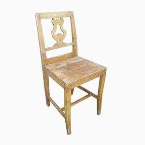 Scandinavian Rustic Side Chair