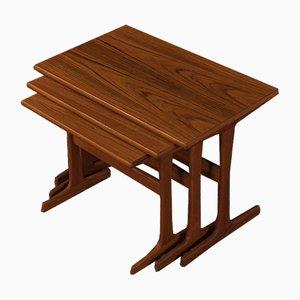 Tavolini ad incastro di Vildbjerg Møbelfabrik, anni '60