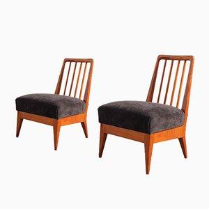 Sedie di Paolo Buffa, anni '50, set di 2