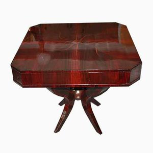 Art Deco Rosewood Game Table, 1920s