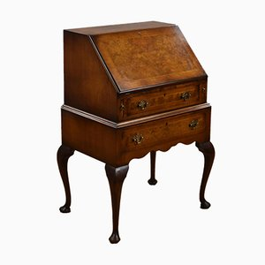 Queen Anne Style Walnut Bureau