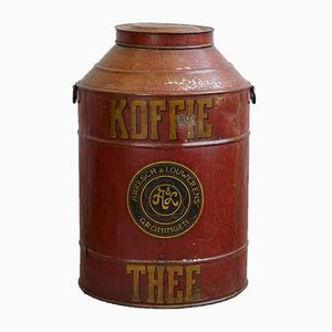 Antique Large Coffee and Tea Box from Abresch & Louwerens