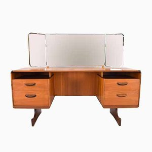 Scottish Teak Vanity with Mirror from Beithcraft, 1960s