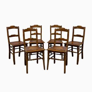 Antique Estonian Dining Chairs from Luterma, 1910s, Set of 6