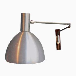 Anpassbare dänische Mid-Century Wandlampe, 1950er