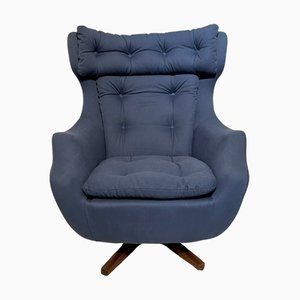 Mid-Century Statesman Swivel Chair from Parker Knoll