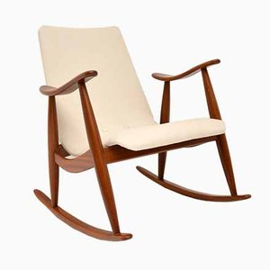 Dutch Rocking Chair by Louis Van Teeffelen, 1960s
