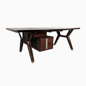 Italian Terni Rosewood Desk by Ico Luisa Parisi for MIM, 1958