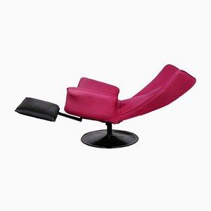 Reclining Swivel Lounge Chair, 1980s