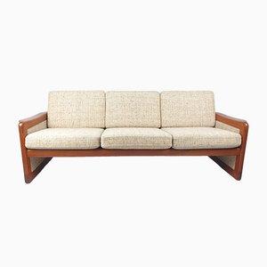 Dänisches Mid-Century Teak 3-Sitzer Sofa, 1970er