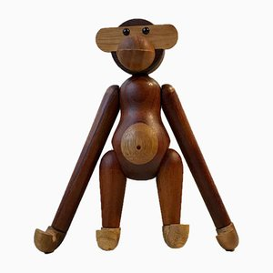 Vintage Teak Monkey by Kay Bojesen, 1970s