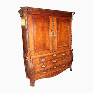 Dutch Mahogany Chest of Drawers, 1800s