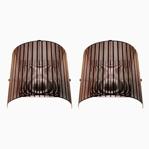 Shogun Wall Sconces by Mario Botta for Artemide, 1980s, Set of 2