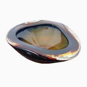 Italienische Murano Glas Schale oder Aschenbecher von Murano, 1960er