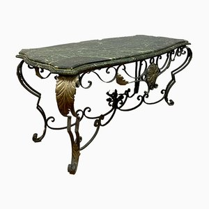 Game Table in Green Marble, 1920s