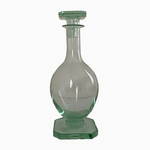 Vintage Glass Carafe by Jean Daum for Daum