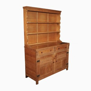 Oak Chest of Drawers from Heal's, 1920s