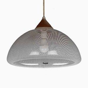 Italian Ceiling Lamp from Guzzini, 1980s