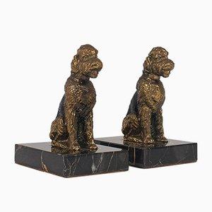 Vintage Dog Figures, 1980s, Set of 2