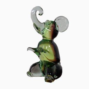 Murano Glass Elephant from Murano, 1960s