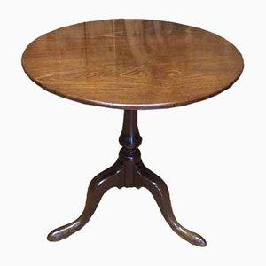 Mahogany Tripod Side Table, 1770s