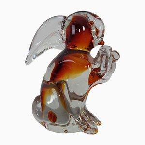 Large Italian Murano Glass Rabbit from Murano, 1960s