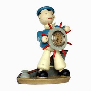 Sailor's Table Clock, 1920s