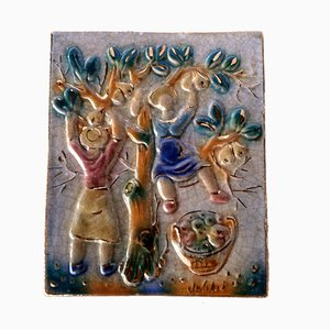 Italian Pottery by GianBattista De Salvo, 1950s