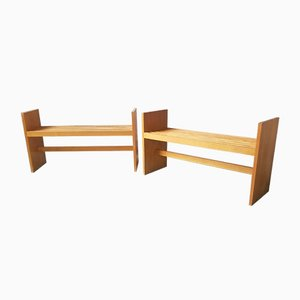 Benches or Shelves, 1960s, Set of 2