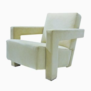 Vintage Ultrecht Chair by Gerrit Rietveld for Cassina, 1960s