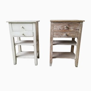Bohemian Nightstands, 1930s, Set of 2