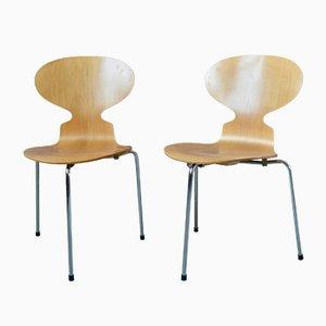 Sedia da pranzo Ant Tripode di Arne Jacobsen per Fritz Hansen