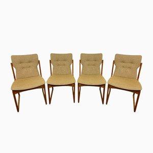 Dänische Teak Stühle von Vamdrup, 1960er, 4er Set