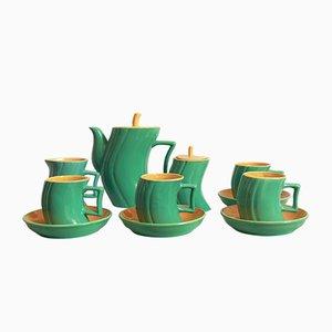 Coffee Service Set by Massimo Iosa Ghini for Naj Oleari, 1980s, Set of 7
