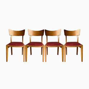 Mid-Century Butterfly Dining Chairs from G-Plan, Set of 4