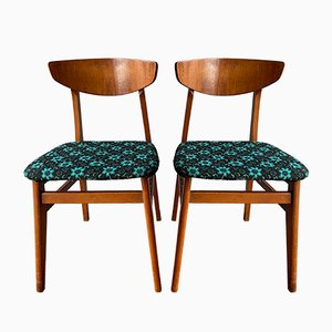 Mid-Century Butterfly Dining Chairs, Set of 2