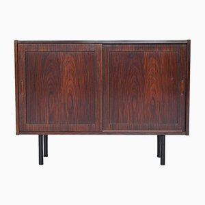 Rosewood Cabinet by Carlo Jensen for Hundevad & Co., 1960s