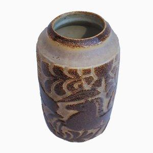 Danish Stoneware Vase by Marianne Starck for Michael Andersen, 1960s