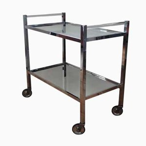 Art Déco Bar Trolley by Jacques Adnet, 1930s